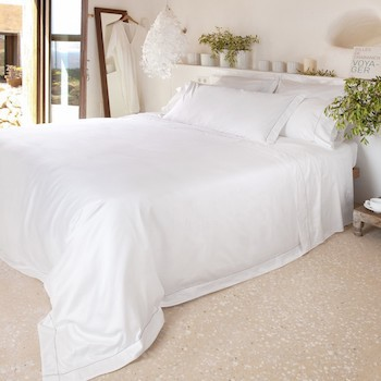 Extra wide pillowcase stone Tremiti