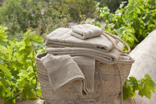 CASSIS_egyptian_cotton_towels_beige_600GSM_fluffy_soft
